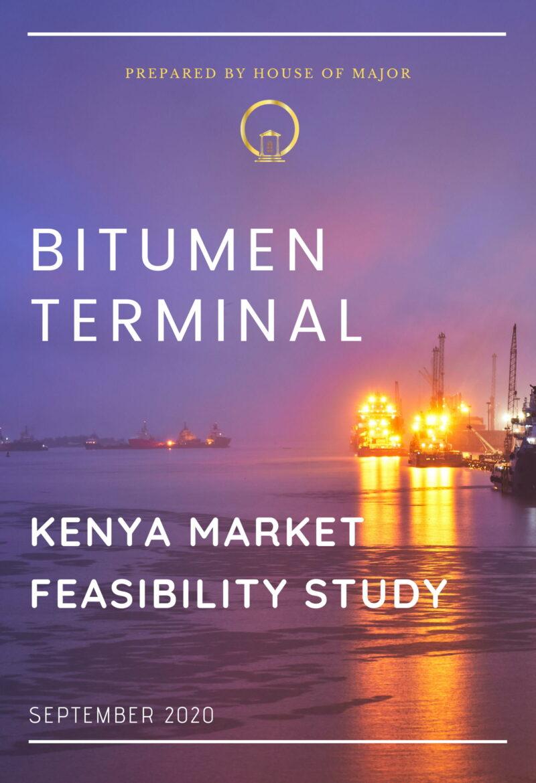 BITUMEN TERMINAL kENYA MARKET FEASIBILITY STUDY-1
